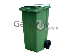 2 wheeled plastic bin 120 liters