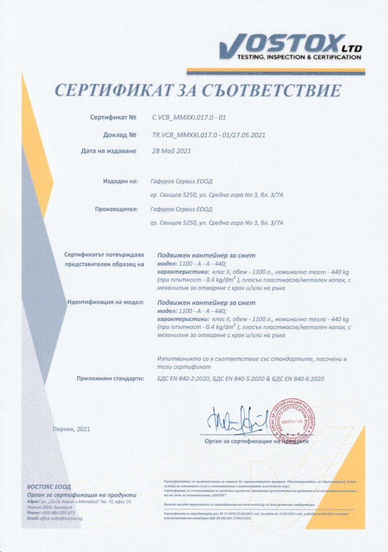 EN 840-2:2020 EN 840-5:2020 EN 840-6:2020 Bulgarian
