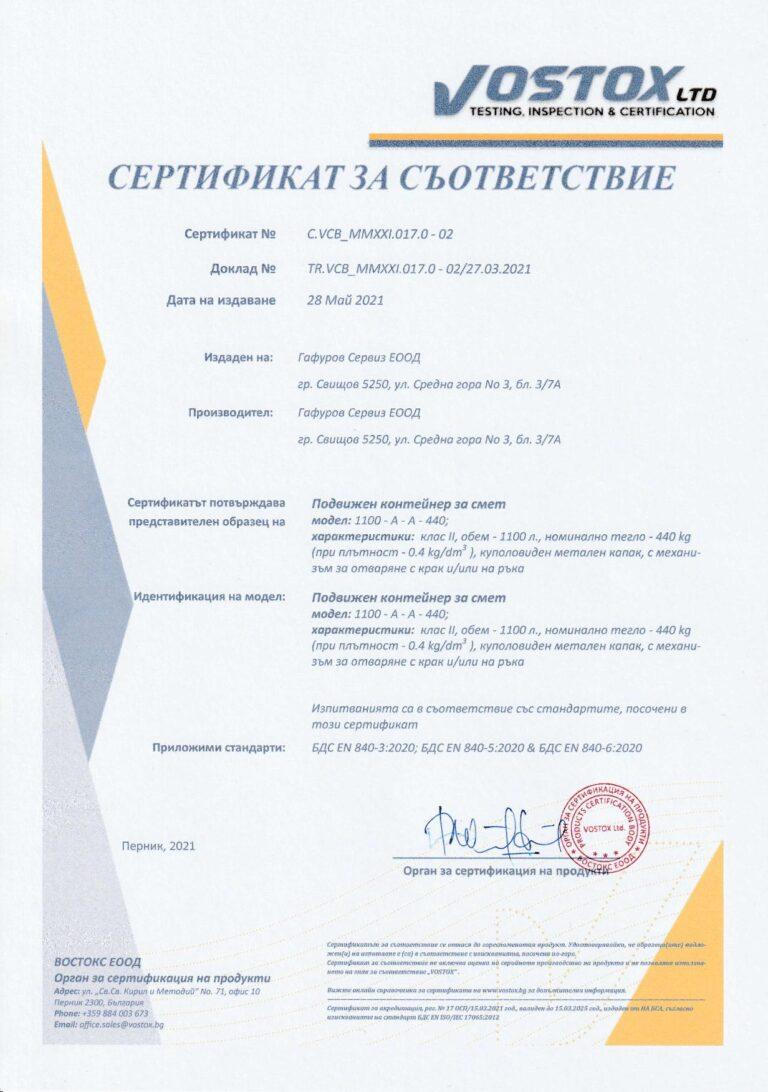 EN 840-3:2020 EN 840-5:2020 EN 840-6:2020 Bulgarian